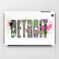 detroit iPad Cases featuring Detroit by Tonya Doughty
