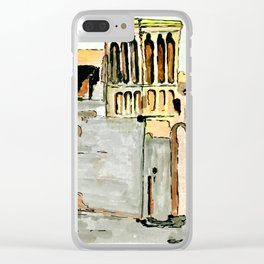 UAE Heritage Clear iPhone Case