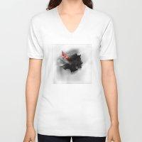 lsd V-neck T-shirts featuring Prescription LSD by Jake Wegesin