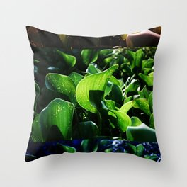 FRICTION BETWEEN THE CONTRAST Throw Pillow