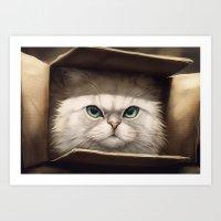Persian Box Art Print