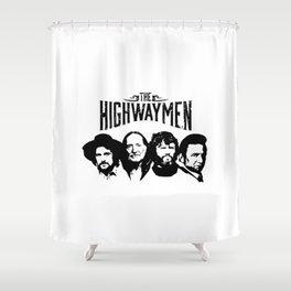 The Highwaymen Music Shower Curtain