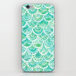 VENUS DE MER Aqua Mermaid Scales iPhone Skin