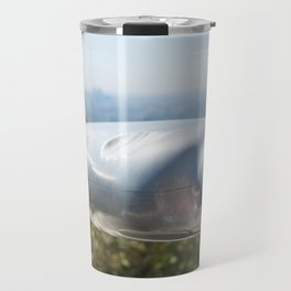 Coin operated telescope at the Griffith Observatory Travel Mug