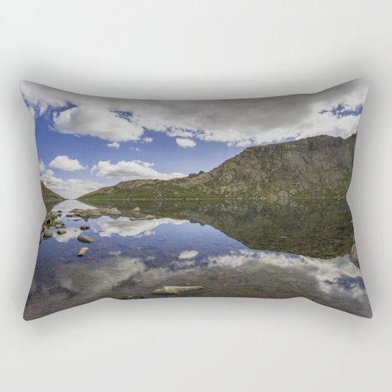 Llyn Llydaw Rectangular Pillow