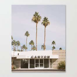 Canyon, Palm Springs Canvas Print