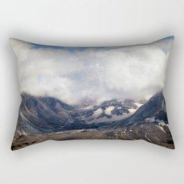 Mount St Helens lava dome souvenir Rectangular Pillow