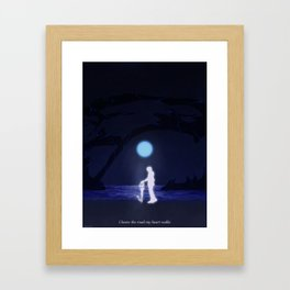 DARK MARGIN Framed Art Print