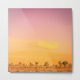 Joshua Tree Sunset III Metal Print
