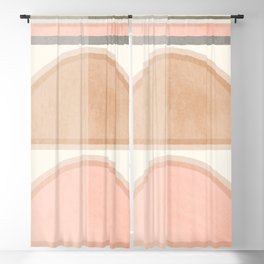 Geometric Abstract 92 Blackout Curtain