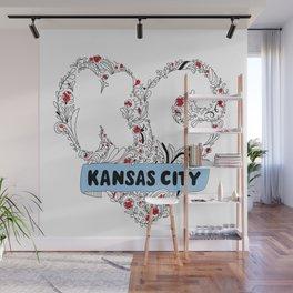 Kansas City Love Wall Mural