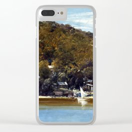 Tom Roberts The Camp, Sirius Cove Clear iPhone Case