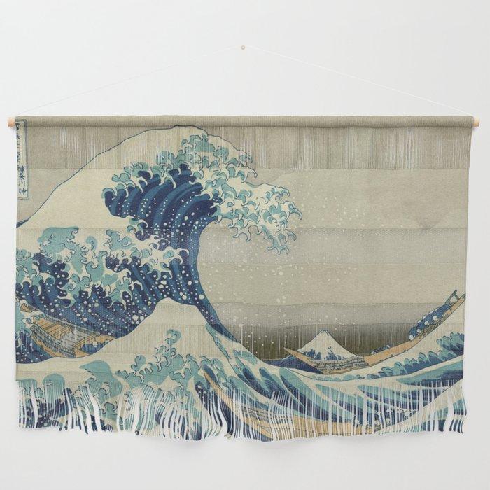 The Great Wave off Kanagawa Wall Hanging