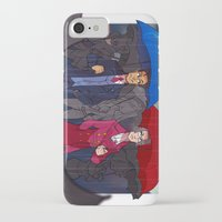 ace attorney iPhone & iPod Cases featuring ace attorney by cclaire