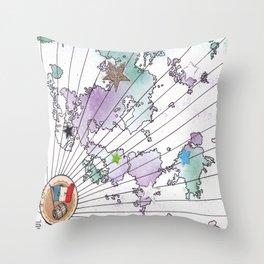 Multiverse Map #2 Throw Pillow