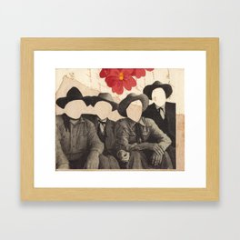 Lonesome Quartet Framed Art Print