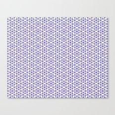 Karthuizer Blue & White Pattern Canvas Print