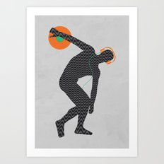 Vinylbolus Art Print