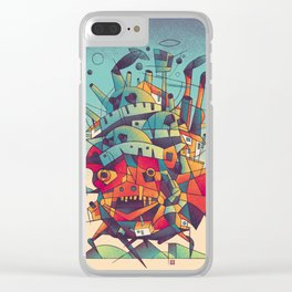 Moving Castle Clear iPhone Case