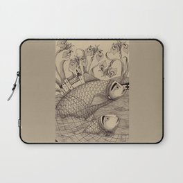 The Golden Fish (1) Laptop Sleeve
