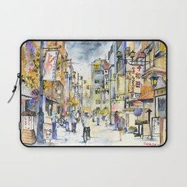 Asakusa street in Japan Laptop Sleeve