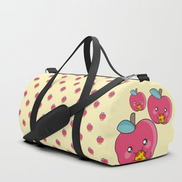 Unhealthy food pattern Duffle Bag