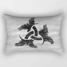 Horn of Odin Rectangular Pillow