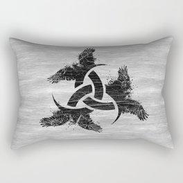 Horn of Odin Rectangular Pillow