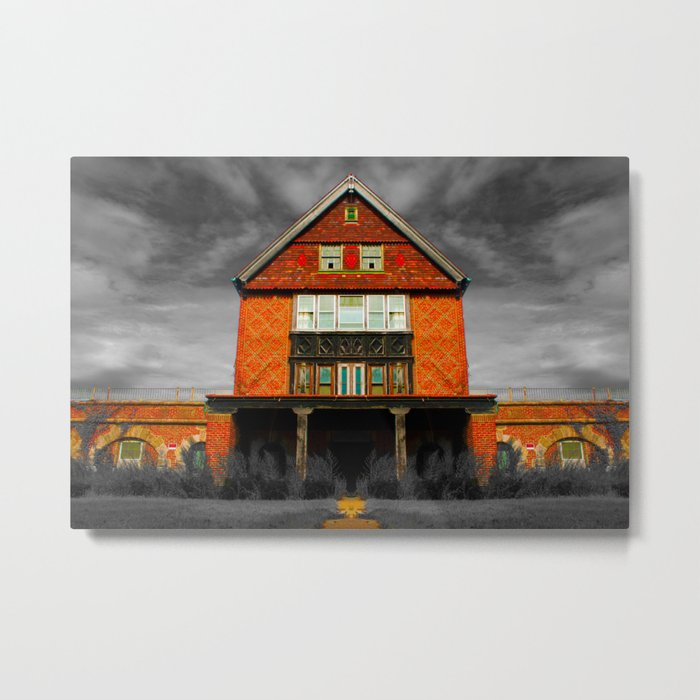 Insane Asylum at CT Metal Print
