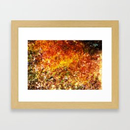 Abstract Water 3 Framed Art Print