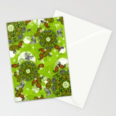 butterfly carousel Stationery Cards