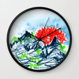 here comes the sun I Wall Clock