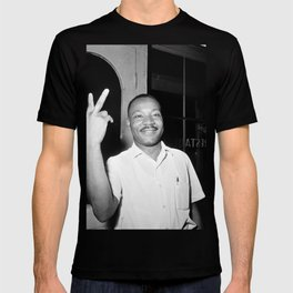 Martin Luther King Peace Symbol T-shirt