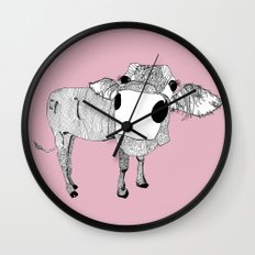 Cowface Wall Clock