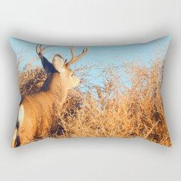 Lone Buck Rectangular Pillow