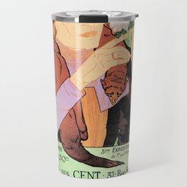 Art Nouveau Expo Salon des Cent Paris Travel Mug