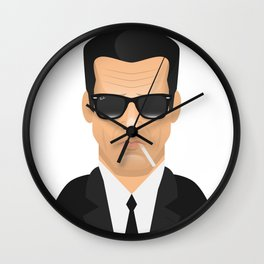 Mr. Blonde - Mike Madsen Wall Clock