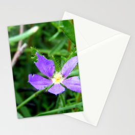 Flower of Purple Stationery Cards