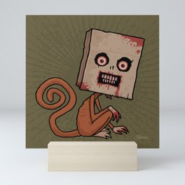 Psycho Sack Monkey Mini Art Print