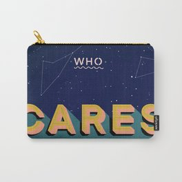 Who Cares Universe Poster Design Carry-All Pouch