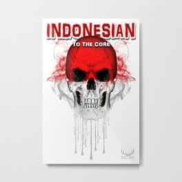 To The Core Collection: Indonesia Metal Print