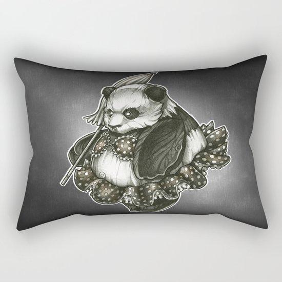 Panda's Day Off Rectangular Pillow