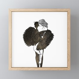 The feel i need. Framed Mini Art Print