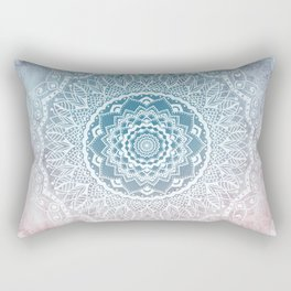 VINTAGE SPRING LACE MANDALA Rectangular Pillow