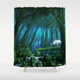 Mononoke Shower Curtain