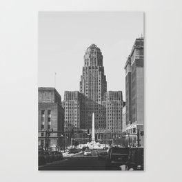 City (Hall) of Good Neighbors Canvas Print
