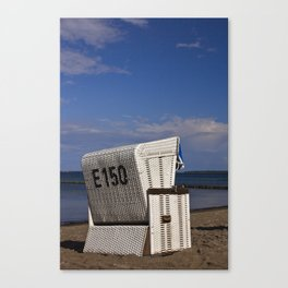 beach chair no E 150 Canvas Print