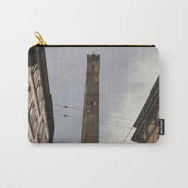 Two Towers, Bologna, Emilia Romagna, Italy, street photography, Torre degli Asinelli, italian city Carry-All Pouch