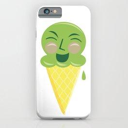 Emotional Ice Cream: Mint iPhone Case