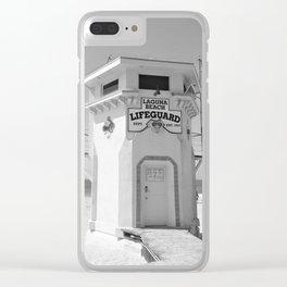 Laguna Beach California Photography Clear iPhone Case